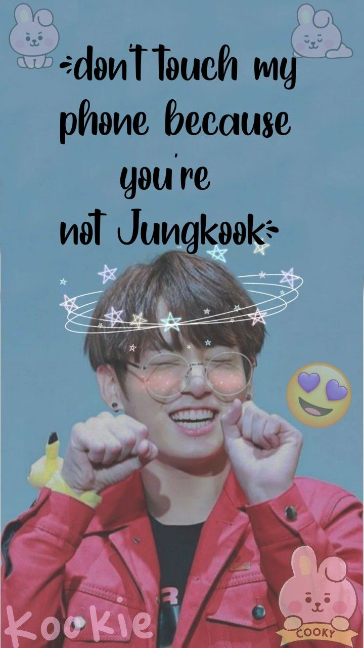 Jungkook Dont Touch My Phone Wallpapers Bts Wallpaper Lyrics Bts Aesthetic Wallpaper For Phone