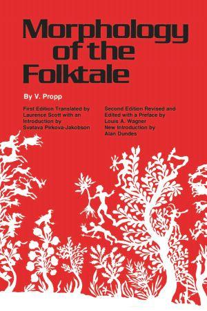 Morphology of the Folktale - Vladimir Propp 1968 - University of Texas Press