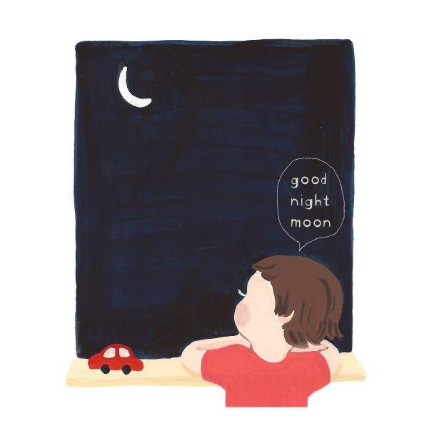 Good night, moon~