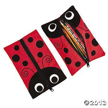 Ladybug Pencil Cases