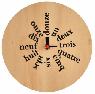 french clock - cool typeStuff, Inspiration Ideas, French Lessons, French Clocks, House, Blink Design, Italian Clocks, Tick Tock, Crafts