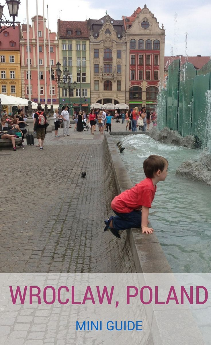 Our guide to things to do in Wroclaw, Poland, visiting Wroclaw with kids and going on a dwarf hunt! http://www.wheressharon.com/europe-with-kids/things-to-do-in-wroclaw/