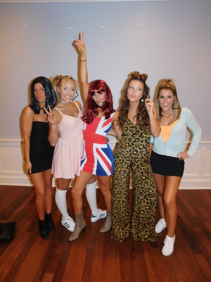 Spice Girls Halloween Costume