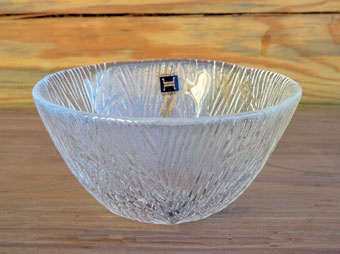 Hadeland Glass Furu Bowl design by Severin Brørby