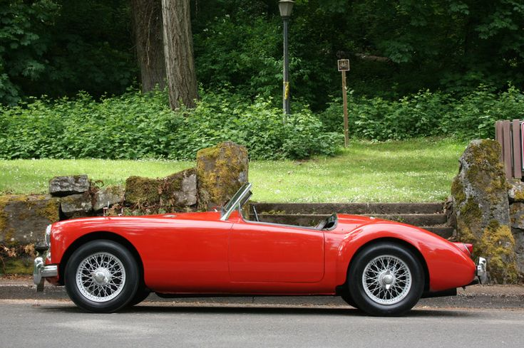 Lovely lines of the MGA. My brother had one just like this one. Use to race it at Chimney Rock Hill Climb.  CC