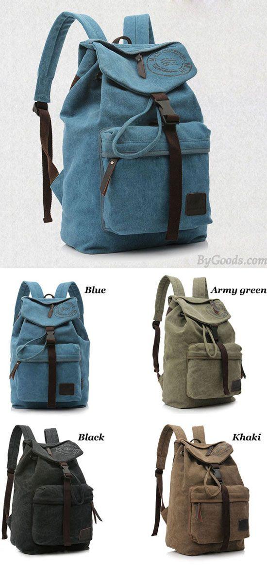 Leisure Vintage Canvas Shoulder Bag/Backpack/Schoolbag for big sale