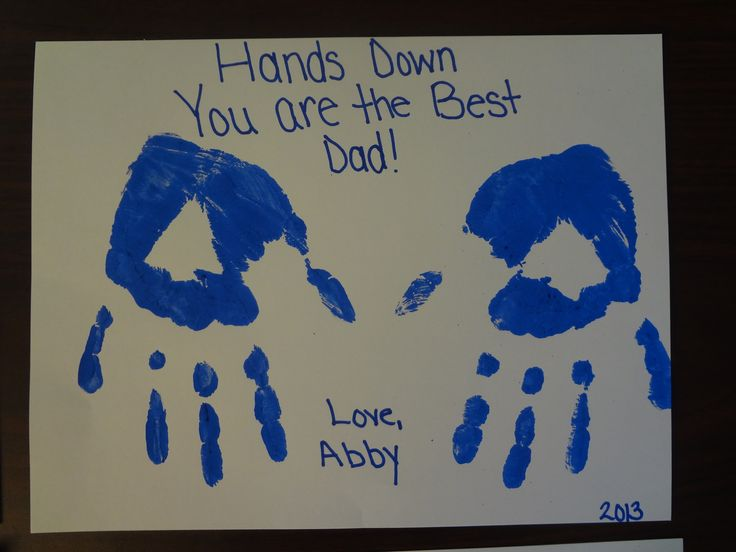 Image Result For Fathers Day Handprint Gift