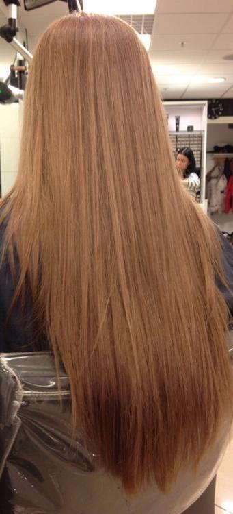 long soft hair