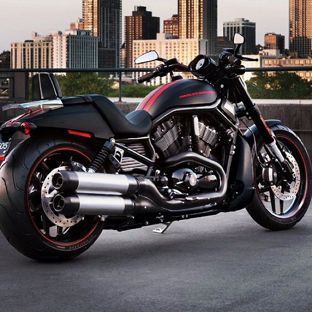 """Harley Davidson Night Rod - This looks so badass, I want it. - The character 'Rolly's' choice of transport in the story of """"Get Emily"""""""