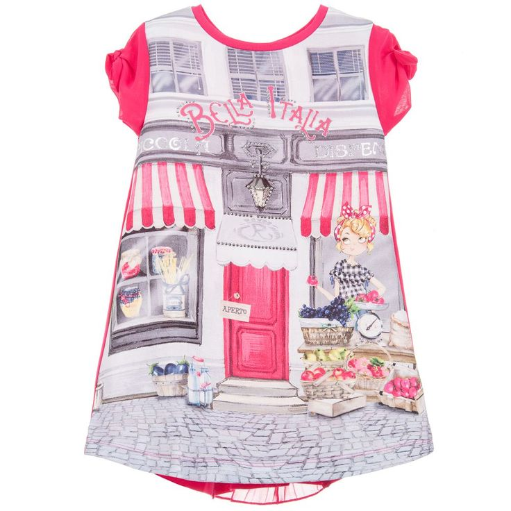 Mayoral Jersey 'Bella Italia' Dress  at Childrensalon.com