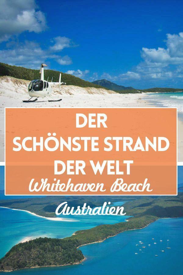 Whitehaven Beach, Australien, ist der wohl schönste Strand der Welt