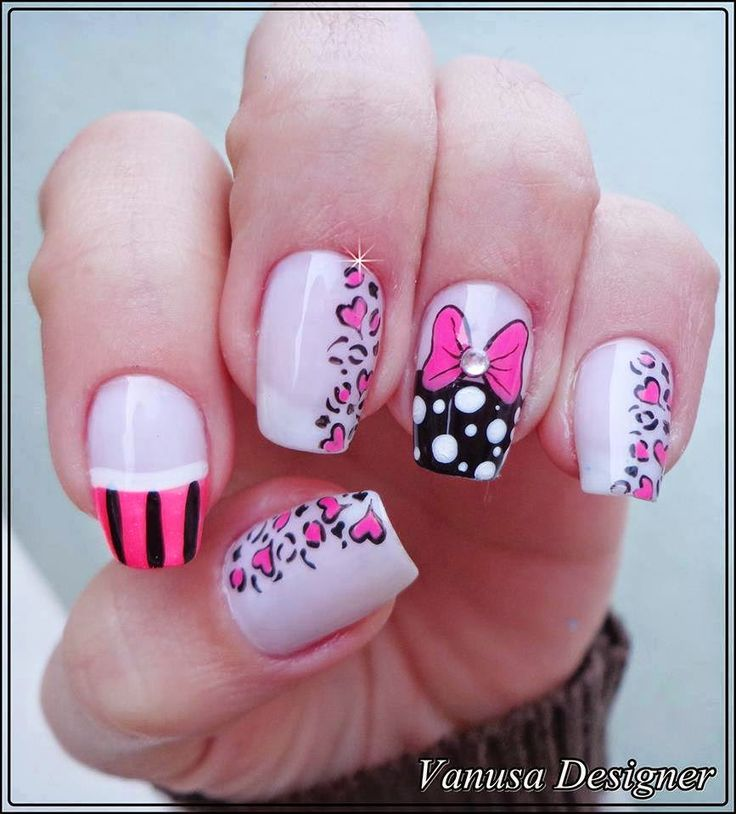 93 best uñas images on Pinterest Nail design, Cute nails and Nail - uas modernas