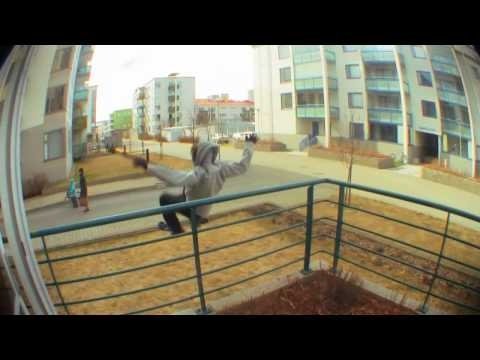 Parkour in downtown Kuopio, Finland with Otto Vainio & Friends.