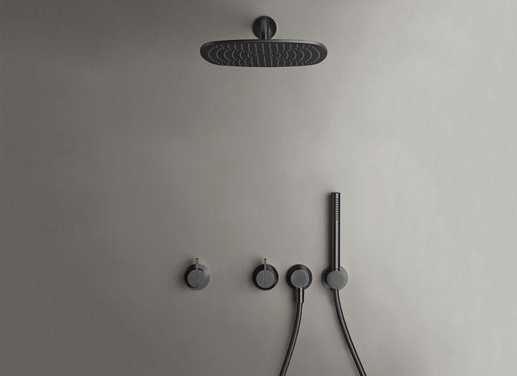 COCOON PB SET21 Rain shower set - gunmetal black