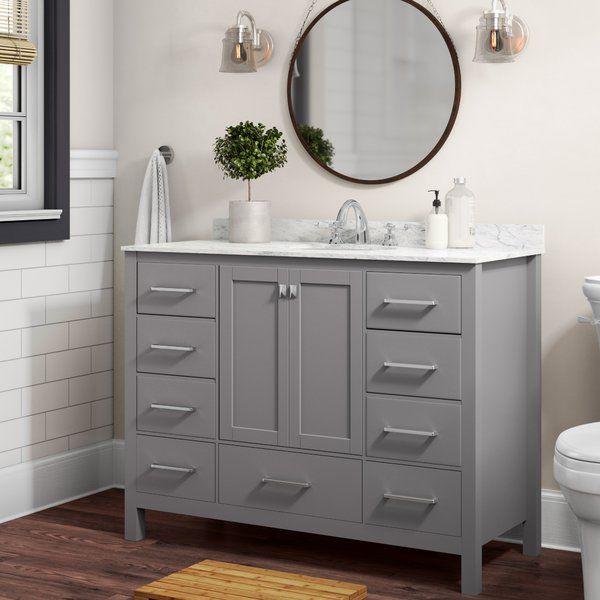 Newtown 48 Single Bathroom Vanity Set Bathroom Vanity Base