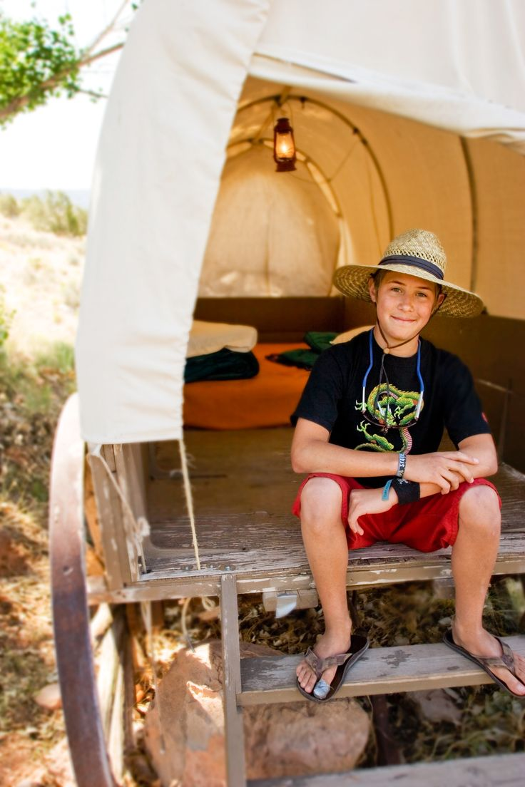Kids will love a stay at Bar 10 Ranch on the rim of the Grand Canyon before embarking on your unforgettable rafting trip with Western River Expeditions!