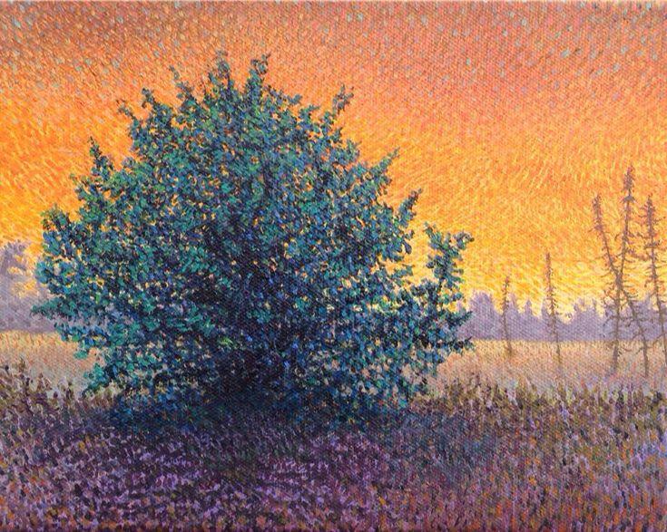 Spruce Bog, Algonquin 8 x 10 #art #fineart #oilpainting @HarriSonic @Mark_Sanche @algonquinoutfit @pinkbigmac @TheAGH