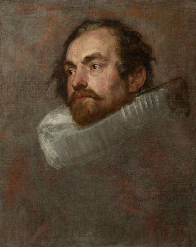 """Anthony Van Dyck's """"Sketch of One of The Magistrates of Brussels"""""""