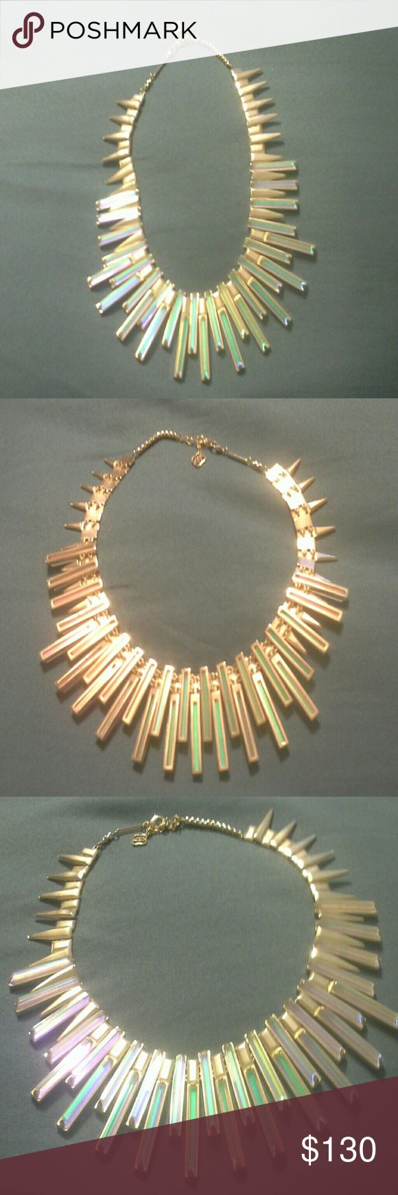 Kendra Scott Kaplan necklace Great looking piece of jewelry. .. used a handful of times.  Comes with KS storage bag. Kendra Scott Jewelry Necklaces