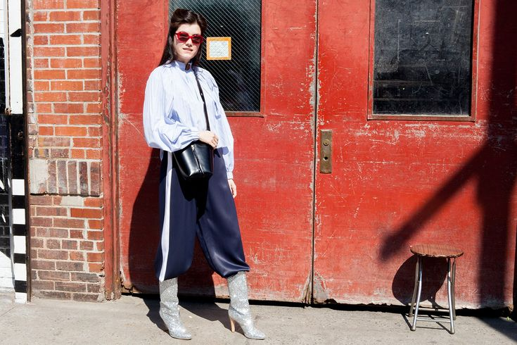 3 Fun Outfits Featuring Pants Tucked Into Boots