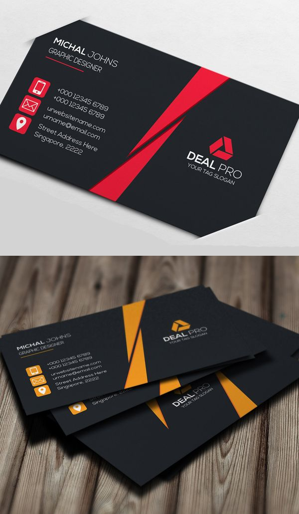 26 Clean Multipurpose Business Card Templates Print Ready Design Design Graphic Design Junction Graphic Design Business Card Business Card Design Black Business Card Design Creative