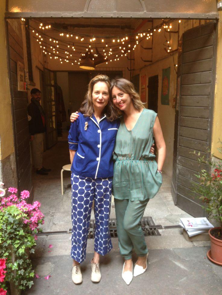 Day 5 - Uberta & Grazia.it's Elena Braghieri @ GNAM BOX CAFE #salonedelmobile2014 #fuorisalone2014 #itgirl #gnambox #5vie
