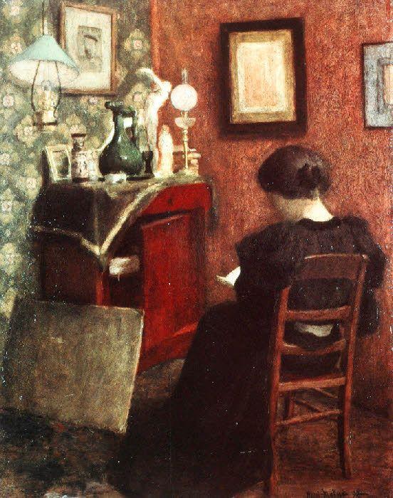 Henri Emile Benoit Matisse artwork - Woman Reading