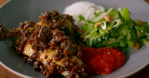 Tom Kerridge super satay chicken recipe