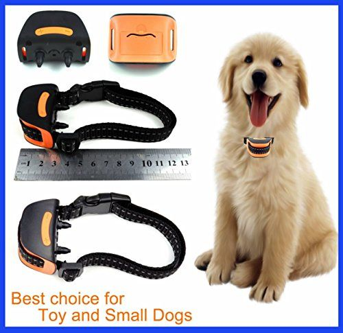 Classic MiniV (VIBRATION) No Bark Dog Collar ( Extra Small Toy Dogs 4lbs to 8lbs) Bark Training Solution. Best Anti Bark Collar (New Arrival 2017) 100% Lifetime Product Warranty *** You can get additional details at