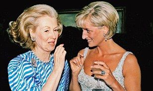 Newly revealed letters have case an intriguing light on the notoriously turbulent relationship between Princess Diana and Raine, Countess Spencer.