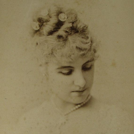 Sarony Adelaide Neilson Famous ACTRESS CDV by NouveauMotley (Art & Collectibles, Photography, Sepia, cabinet card, cdv circus, antique, photo photography, theatre theater, actor actress, thespian, victorian hat, victorian dress, millinery, opera gloves, bustle, rare haunting)