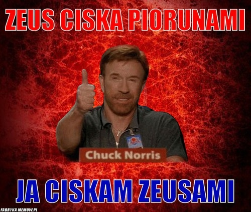 Chuck Norris rządzi