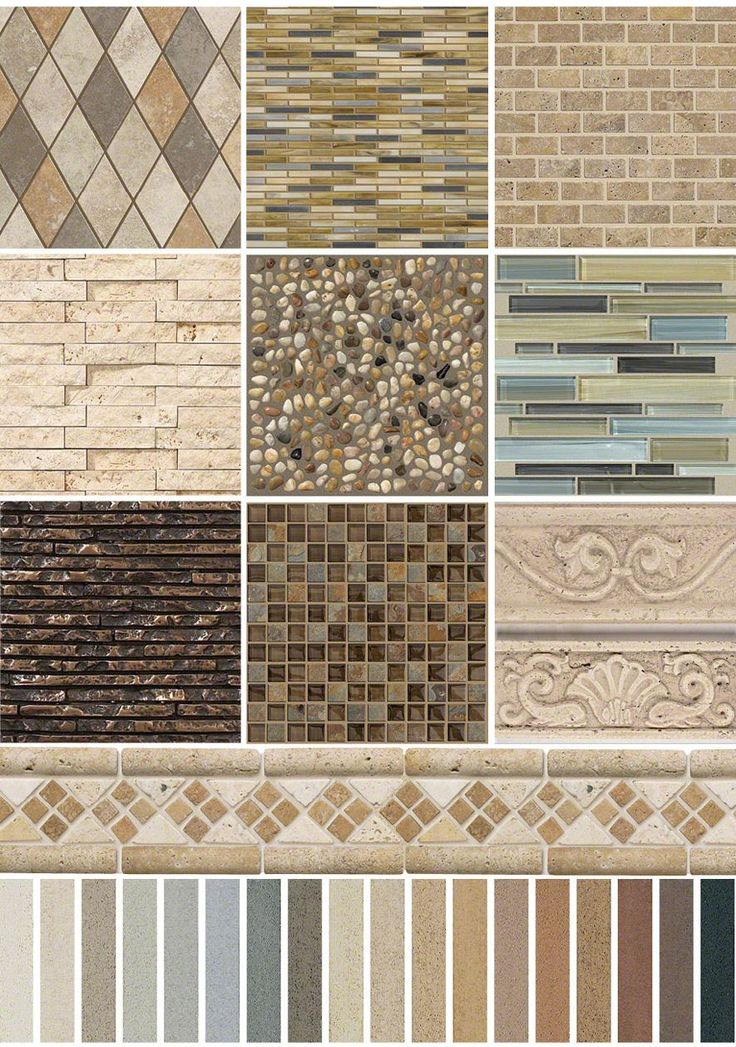 31 best Accent Tile images on Pinterest | Granite, Mosaics and ...