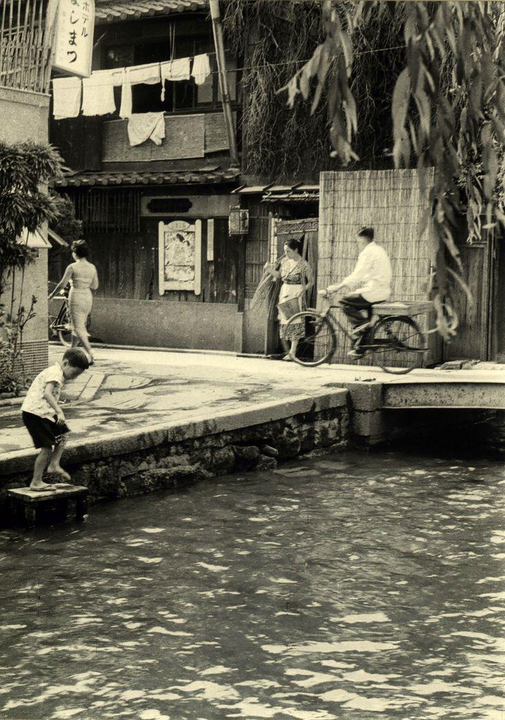 Kyoto 1955. Kansuke Yamamoto. ©Toshio Yamamoto. 京都 昭和30年