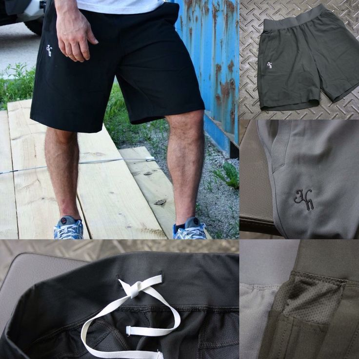 Black Hybrid shorts are nearly sold out and the grays aren't far behind. www.jekyllhydeapparel.com