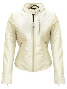 Schott leather jackets and motorcycle apparel, women's cafe style bomber jacket