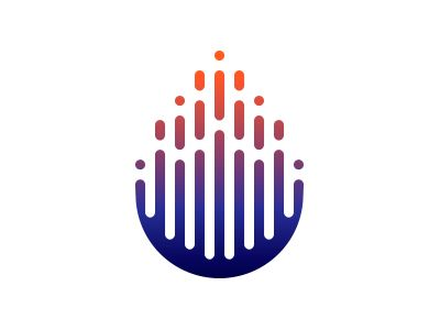 Dribbble - Drop Logo by Zabombey