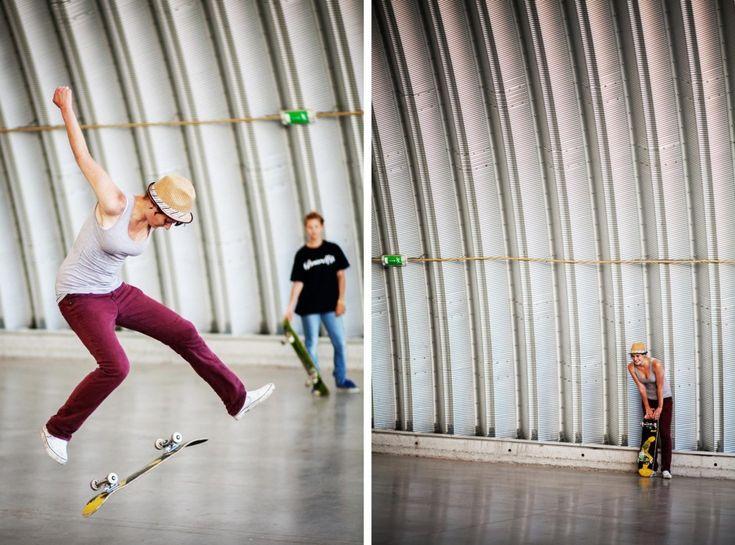 Talented skater from Slovakia, Perla Karvasova