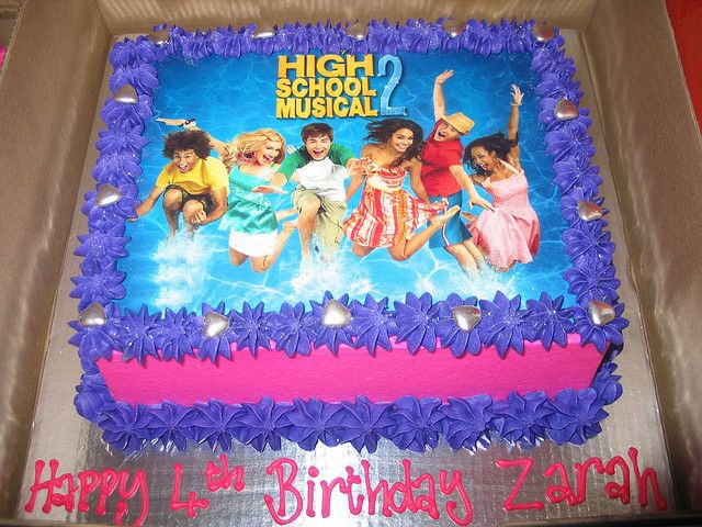 High School Musical Birthday Cakes Cake For S 10 And Up