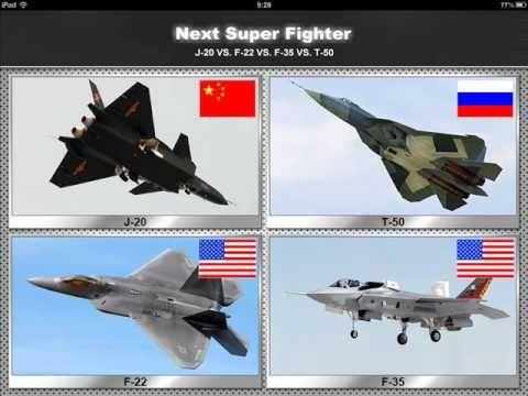 Сравнение F-35 и Т-50 ПАК ФА от военного эксперта