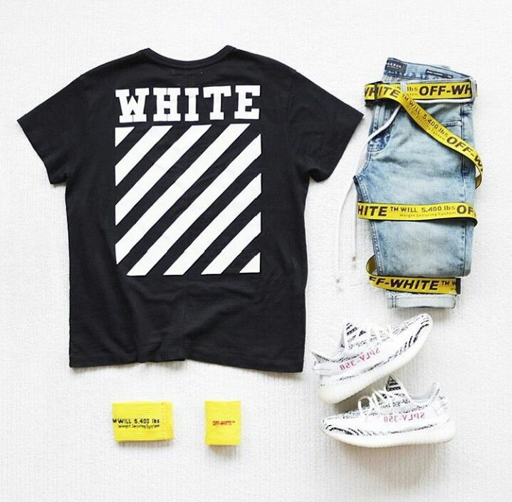 Off white #men's style #lookbook men