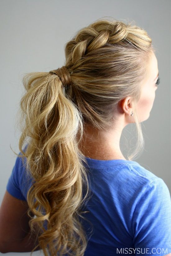 twisted hair styles 25 best ideas about ponytail on 8869