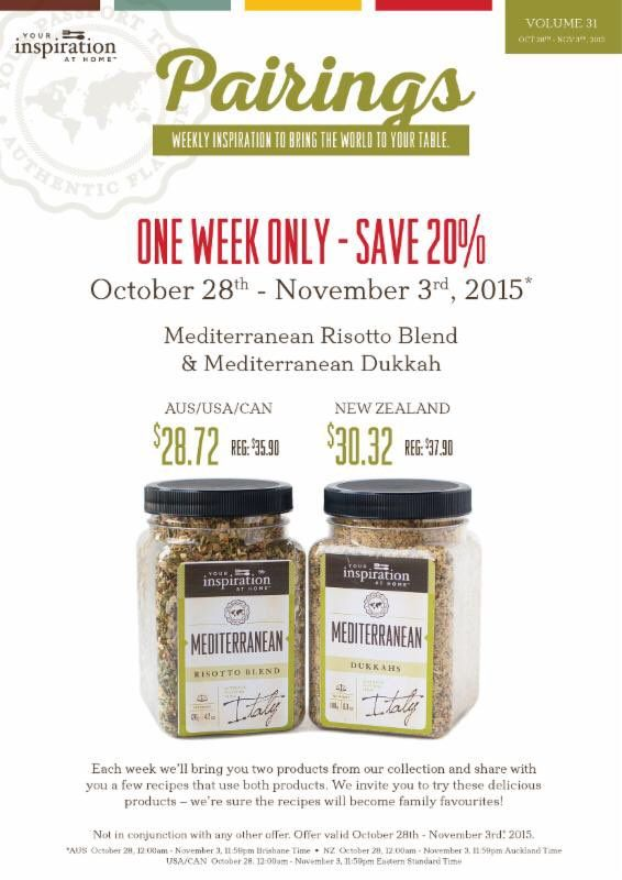 """Kathryn on Twitter: """"This weeks pairing specials, head on over to order yours below http://kathryngutierrez.yourinspirationathome.com.au"""