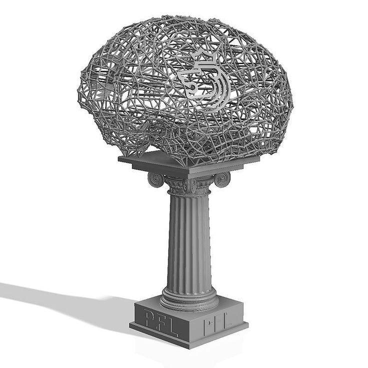 #3dмоделирование статуэтки награды с корпоративной символикой для 3d печати. #3dmodelling of a #prize with a corporate #symbol for #3dprinting #3dprint #3dprinter #3dprint #design #designtoy  #brain #prototype #rapidprototyping #artwork #art #maquet #3dпринтер #3dпечать #3dпринт #3дпечать #3дпринтер #3дпринт #арт #дизайн #статуэтка #мозг #скульптура #макет #3dminifactory #приз #trophy by 3dminifactory