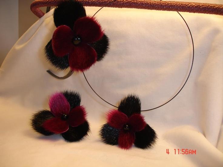 Inuit sealskin accessories