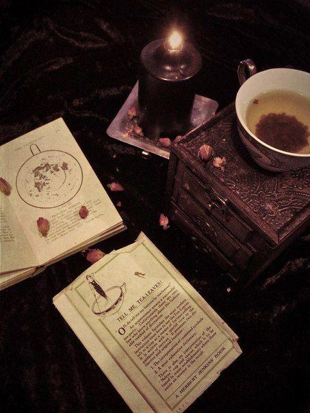 Tea:  Reading the #tea leaves.
