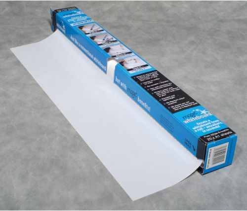 Magic Whiteboard - 65 Feet of Whiteboard on a Roll - 25 Dry Erase Sheets - Dry Erase Whiteboards at Hayneedle
