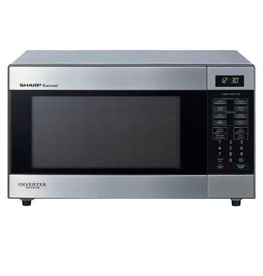 Sharp 33 Litre Midsize Sensor Microwave