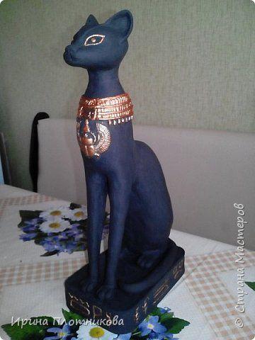 Мастер-класс Скульптура Лепка Бастет - египетская богиня Тесто соленое фото 1