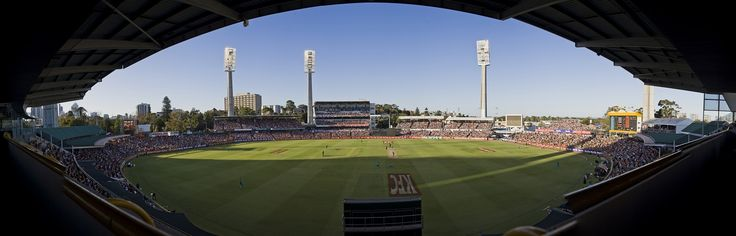 #TheFurnace (aka the WACA Ground) is the home of the mighty Perth Scorchers.